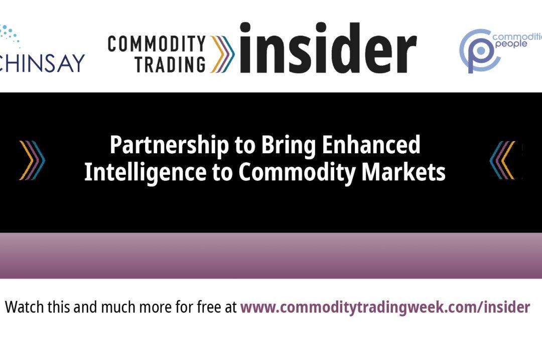 Partnership to Bring Enhanced Intelligence to Commodity Markets
